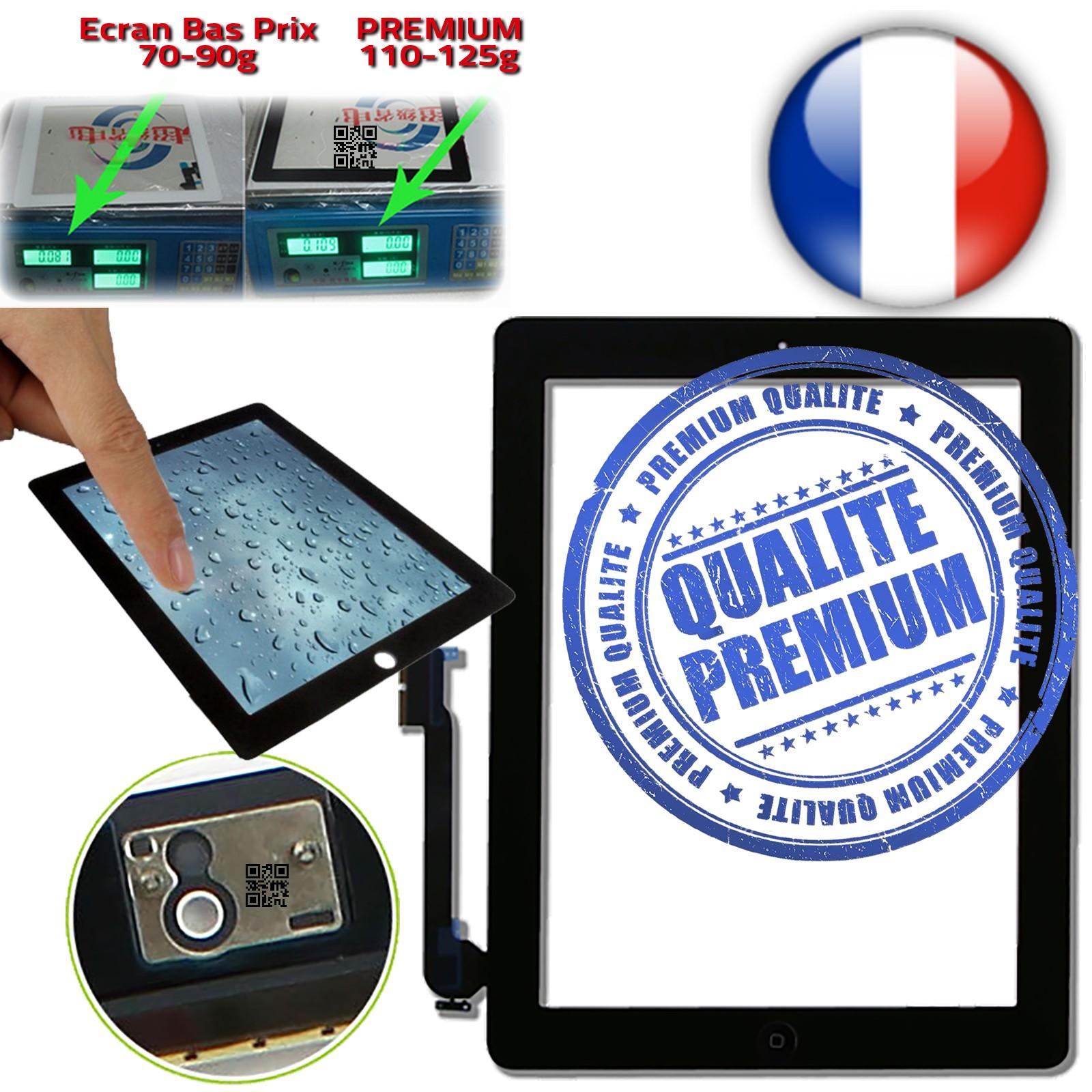 Vitres en Verre PREMIUM Apple iPad 4 Retina Quatrième Génération