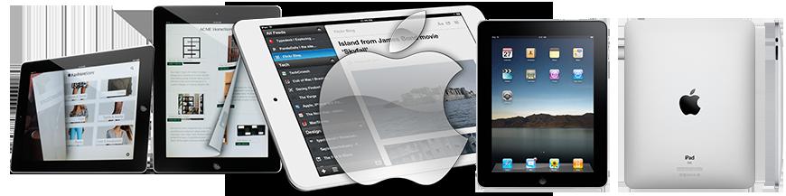 Vitres en Verre PREMIUM (Apple iPad 4 Retina) (Quatrième Génération)
