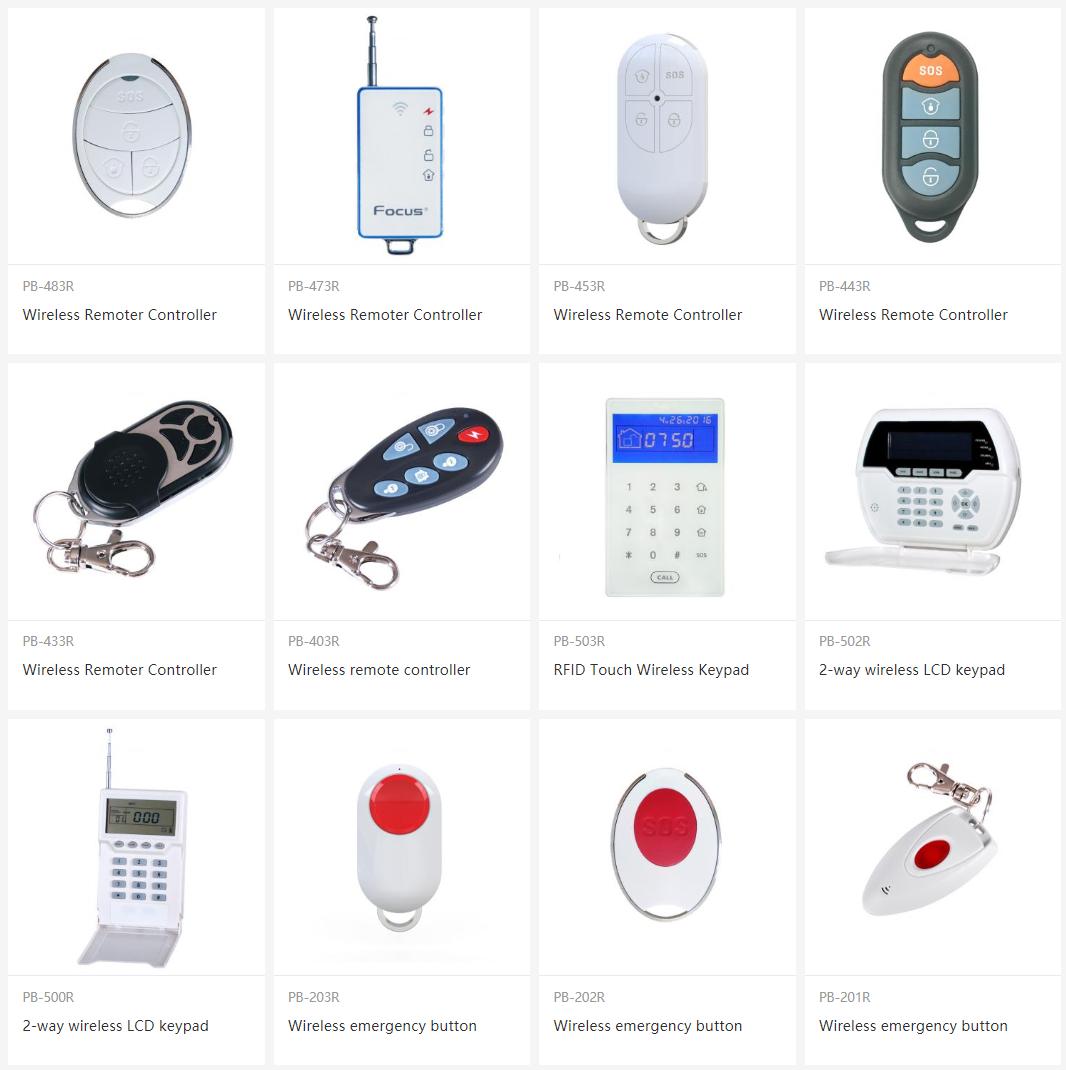Autres Accessoires Transmetteurs, Badges RFID, Antennes, Détecteurs de choc, Amplificateurs ...